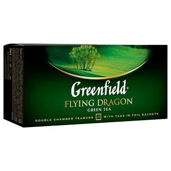 Чай зелений Greenfield Flying Dragon 2г*25шт - купити, ціни на ЕКО Маркет - фото 2