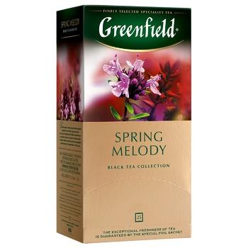 Чай черный Greenfield Spring Melody с тимьяном 25шт 1,5г - купить, цены на Восторг - фото 2