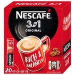 Напиток кофейный NESCAFÉ® 3-в-1 Original растворимый стик 20*13г
