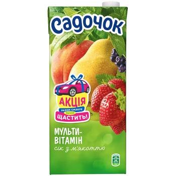Sadochok Multivitamin Juice with Pulp 1,93l - buy, prices for CityMarket - photo 2
