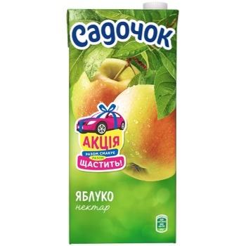 Нектар Садочок Яблучний 1.93л - купити, ціни на Фуршет - фото 2