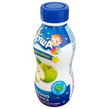 Йогурт Агуша Засыпайка яблоко-мелисса для детей с 8 месяцев 2,7% 200г - купить, цены на ЕКО Маркет - фото 2