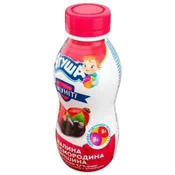 Йогурт дитячий Агуша Імуніті малина-чорна смородина-шипшина 2,7% 200г - купити, ціни на CітіМаркет - фото 2
