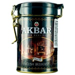 Akbar English Breakfast Black Tea 100g