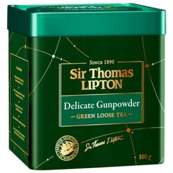Lipton Yellow Sir Thomas green tea 100g - buy, prices for CityMarket - photo 2
