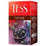 Чай чорний Tess Thyme 90г