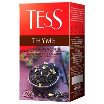 Чай чорний Tess Thyme 90г - купити, ціни на МегаМаркет - фото 1