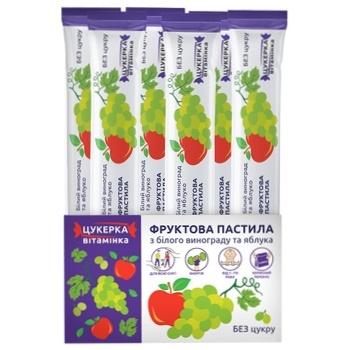 Пастила фруктовая Белый Виноград и яблоко 15г - купить, цены на Ашан - фото 2