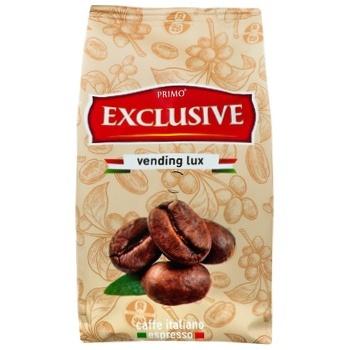 Кофе Primo Exclusive Vending lux в зернах 500г - купить, цены на Ашан - фото 3
