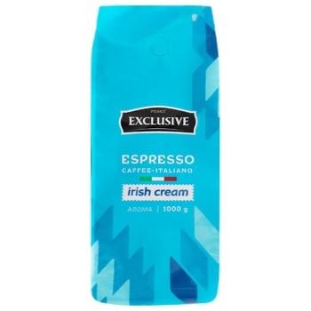 Primo Exclusive Espresso Irish Cream Coffee in Beans 1kg - buy, prices for CityMarket - photo 2
