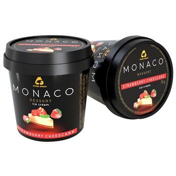 Three Bears Monaco Dessert Strawberry Cheesecake Ice-Cream 70g - buy, prices for CityMarket - photo 1