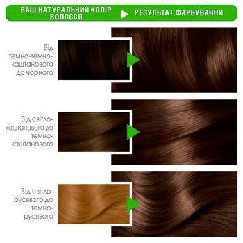 Garnier Color Naturals Creme №4 1/2 Dark Chocolate Hair Color - buy, prices for CityMarket - photo 3