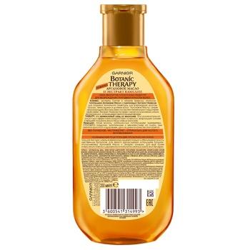 Шампунь Garnier Botanic Therapy аргановое масло и экстракт камелии для тусклых непослушных и длинных волос 250мл - купить, цены на УльтраМаркет - фото 2