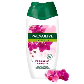Гель-крем для душа Palmolive Натурель Розкішна м'якість Чорна орхідея і зволожуючу молочко 250мл - купити, ціни на Ашан - фото 2