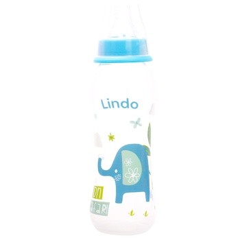 Lindo Li 145 With Silicone Nipple Bottle 250ml - buy, prices for CityMarket - photo 2