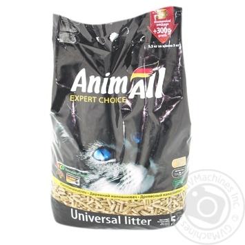 Древесный наполнитель Animall 5,3кг - купить, цены на Метро - фото 2