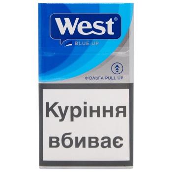 Цигарки Blue Up West - купити, ціни на CітіМаркет - фото 1