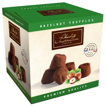 Chocolate Inspiration With Hazelnut French Truffles 200g - buy, prices for Auchan - photo 1