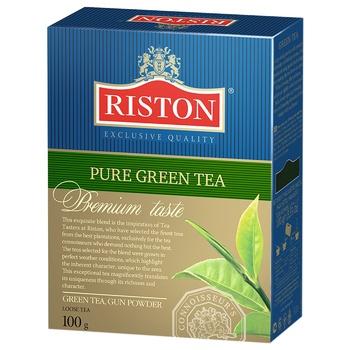 Зелений чай Рістон крупнолистовий 100г Шрі-Ланка