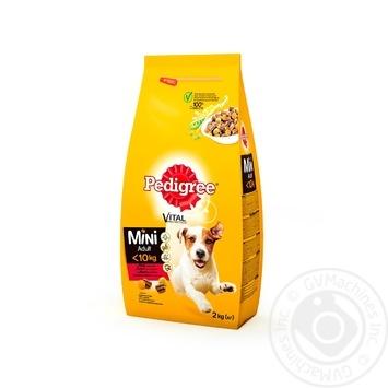 Корм  Pedigree для маленьких собак с говядиной и овощами 2кг - купить, цены на Ашан - фото 2