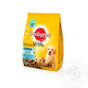 Puppies dry food Pedigree Vital Junior 500g - buy, prices for EKO Market - photo 1