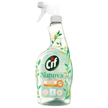 Средство для уборки кухни Cif Могучая природа с экстрактом лимона 750мл - купить, цены на Novus - фото 1