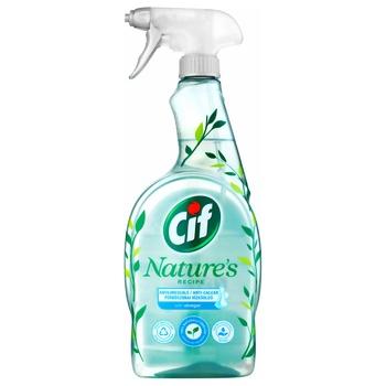 Засіб для прибирання ванної Cif Могутня природа з оцтом 750мл - купити, ціни на Ашан - фото 1