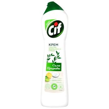 Крем чистящий Cif Cream Сила природы 450мл - купить, цены на Восторг - фото 1