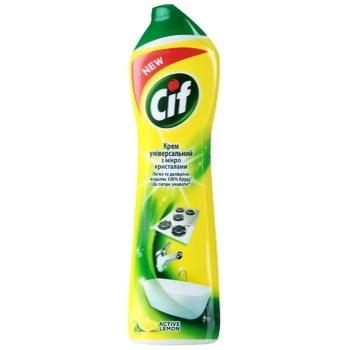 Крем чистящий Cif  Active Лимон Универсальный 500мл