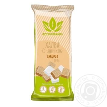 Халва Дружківська соняшникова цукрова 200г - купити, ціни на Novus - фото 1