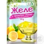 Jelly Eko lemon jelly for desserts 90g packaged - buy, prices for Furshet - image 1