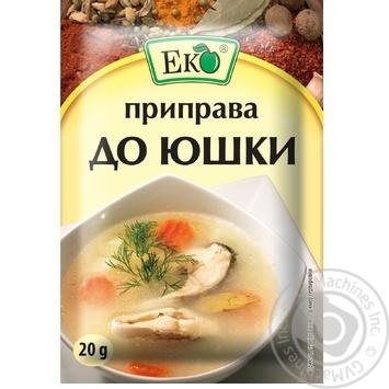 Приправа Эко для ухи 20г - купить, цены на Novus - фото 1