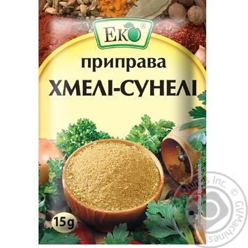Eco Khmeli-Suneli Seasoning - buy, prices for Novus - image 1