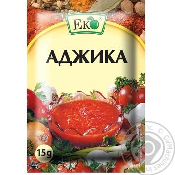 Приправа Еко Аджика 15г - купити, ціни на Novus - фото 1