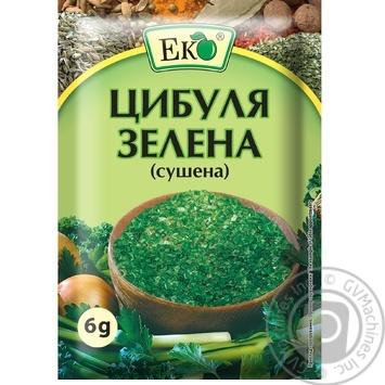 Лук Эко зеленый сушеный 6г - купить, цены на ЕКО Маркет - фото 1