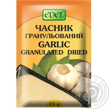 Edel Dried Granulated Garlic 15g - buy, prices for Novus - image 1