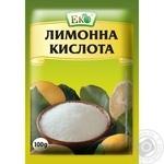 Кислота лимонная Эко 100г