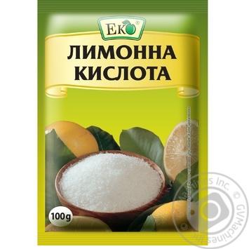 Кислота лимонна Еко 100г