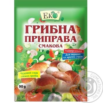 Приправа Эко грибная вкусовая 90г - купить, цены на Novus - фото 1