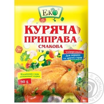Приправа Эко куриная вкусовая 90г - купить, цены на Novus - фото 1