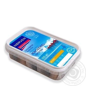 Norven mackerel piecesb in oil 300g - buy, prices for Tavria V - image 1