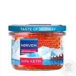 Икра лососевая Norven кеты зернистая 200г