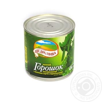 Горошек Долина Желаний зеленый отборный 425мл - купить, цены на Фуршет - фото 2