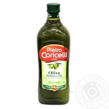 Масло оливковое Pietro Coricelli Pomace 1л - купить, цены на Novus - фото 1