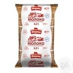Молоко Ферма ультрапастеризованное 3.2% 900г тетра фино Украина
