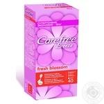 Прокладки ежедневные Carefree Breeze Fresh Blossom 1 капля 40шт