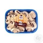 Mushrooms cup mushrooms Persha khvylia fresh 250g