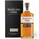 Whiskey Highland park 48.1% 25yrs 700g Scotland England