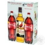 Набір віскі 40% 0,7л The Famous Grouse + Coca-Cola 1л