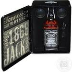 Набор Виски Джек Дэниэлс 40% 700мл Сша + колонки